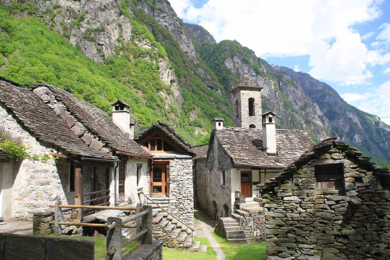 The charming village of Foroglio definitely added a bit of charm to an already beautiful landscape in Val Bavona