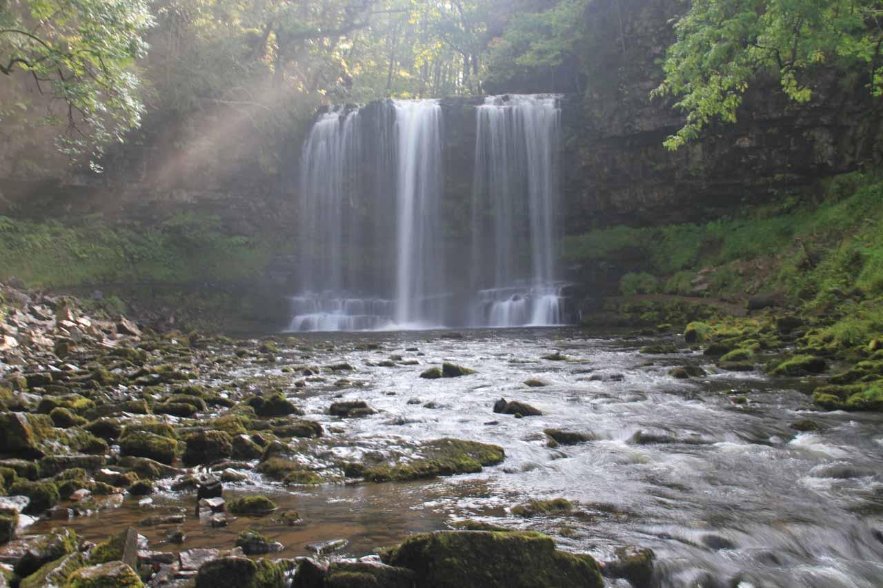 Finally, I made it to the Sgwd yr Eira Waterfall along the Afon Hepste