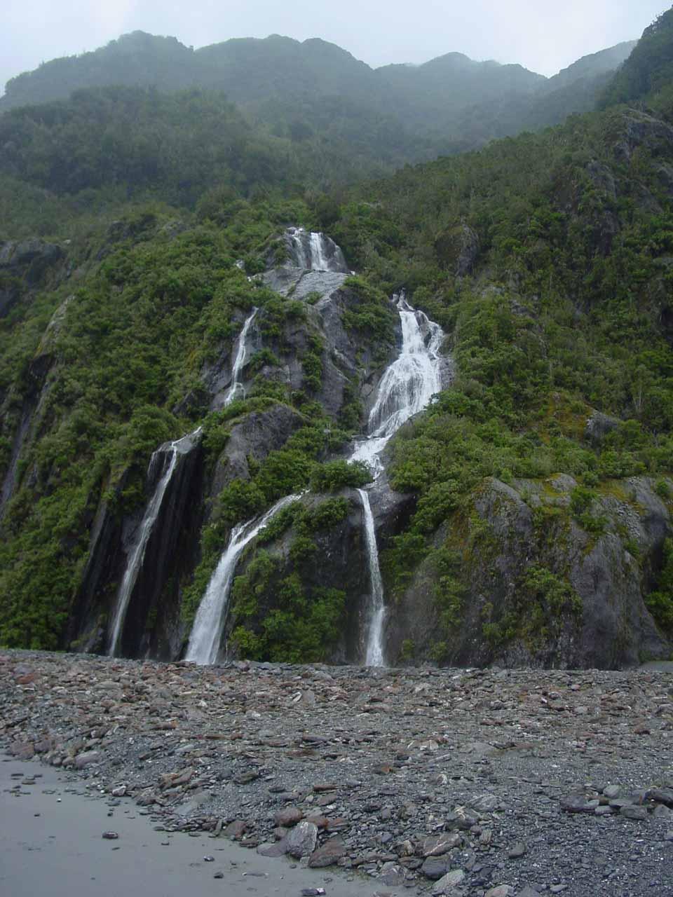 Looking at Trident Creek Falls