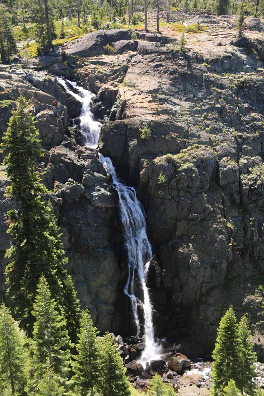 Closer examination of Frazier Falls