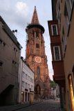 Freiburg_011_06202018 - The impressive cathedral in the innenstadt in Freiburg