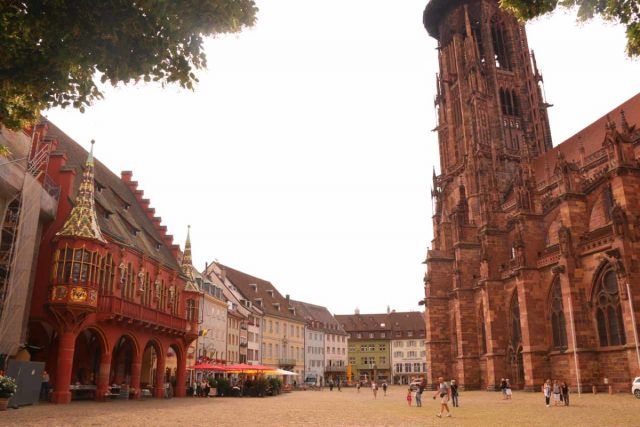 Freiburg_096_06212018 - Colmar was less than an hour drive west of Freiburg, which was across the border in Germany's Black Forest Region. This was where we soaked in more medieval architecture