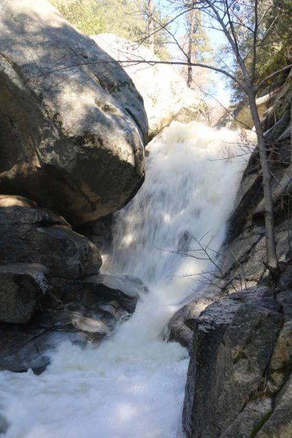 Fuller_Mill_Creek_Falls_047_02122017 - Closeup look at the main drop of the Fuller Mill Creek Falls