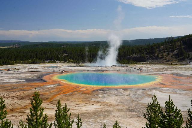 GPS_Overlook_085_08062020 - The Grand Prismatic Spring Overlook from the newly-built spur trail (completed in 2017) uphill from the Fairy Falls Trail as seen in August 2020