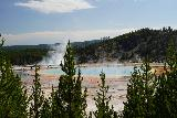 GPS_Overlook_093_08062020 - This other connecting trail to the Grand Prismatic Spring Overlook (that I finally got to do in August 2020) also yielded teasing glimpses of the colorful spring