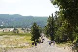 GPS_Overlook_126_08062020 - Lots of people on the Fairy Falls Trail as I was headed back to the trailhead to end this short visit in August 2020