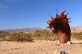 Galleta_Meadows_007_02082019 - The head of the famous dragon in Galleta Meadows in Borrego Springs