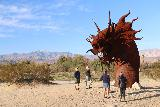 Galleta_Meadows_028_02082019 - Other people checking out the famous dragon in Galleta Meadows in Borrego Springs