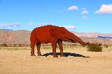 Galleta_Meadows_130_02092019 - Elephant sculpture at Galleta Meadows