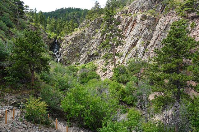Garden_Creek_Falls_026_07292020 - Context of looking back towards Garden Creek Falls from the steep path leading up to the Casper Overlook