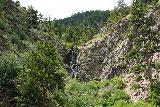 Garden_Creek_Falls_027_07292020 - Looking back towards Garden Creek Falls on the way up to the overlook of Casper