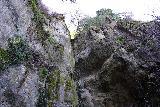 Garland_Ranch_124_02072021 - Another look up at the Garland Ranch Falls' lip