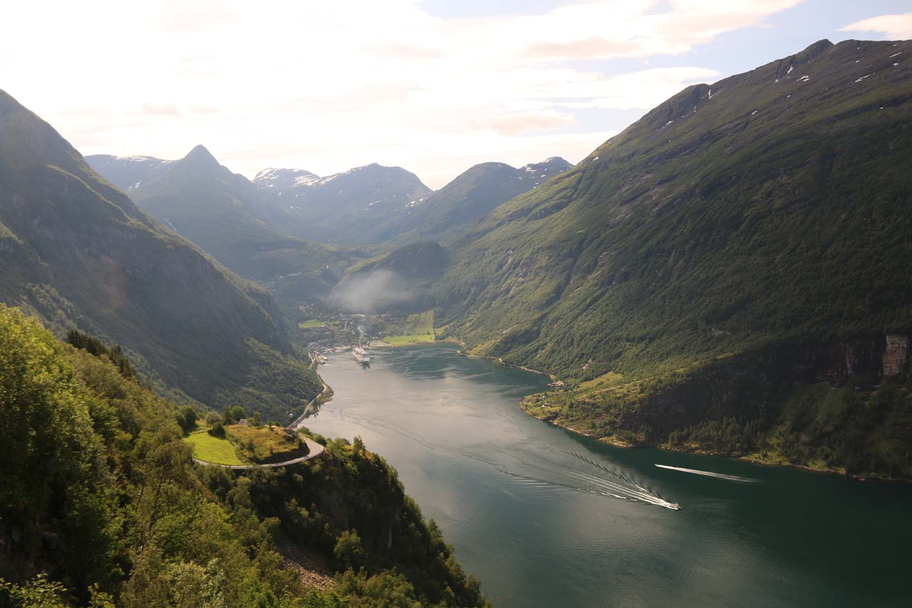 Geiranger and the Geirangerfjord
