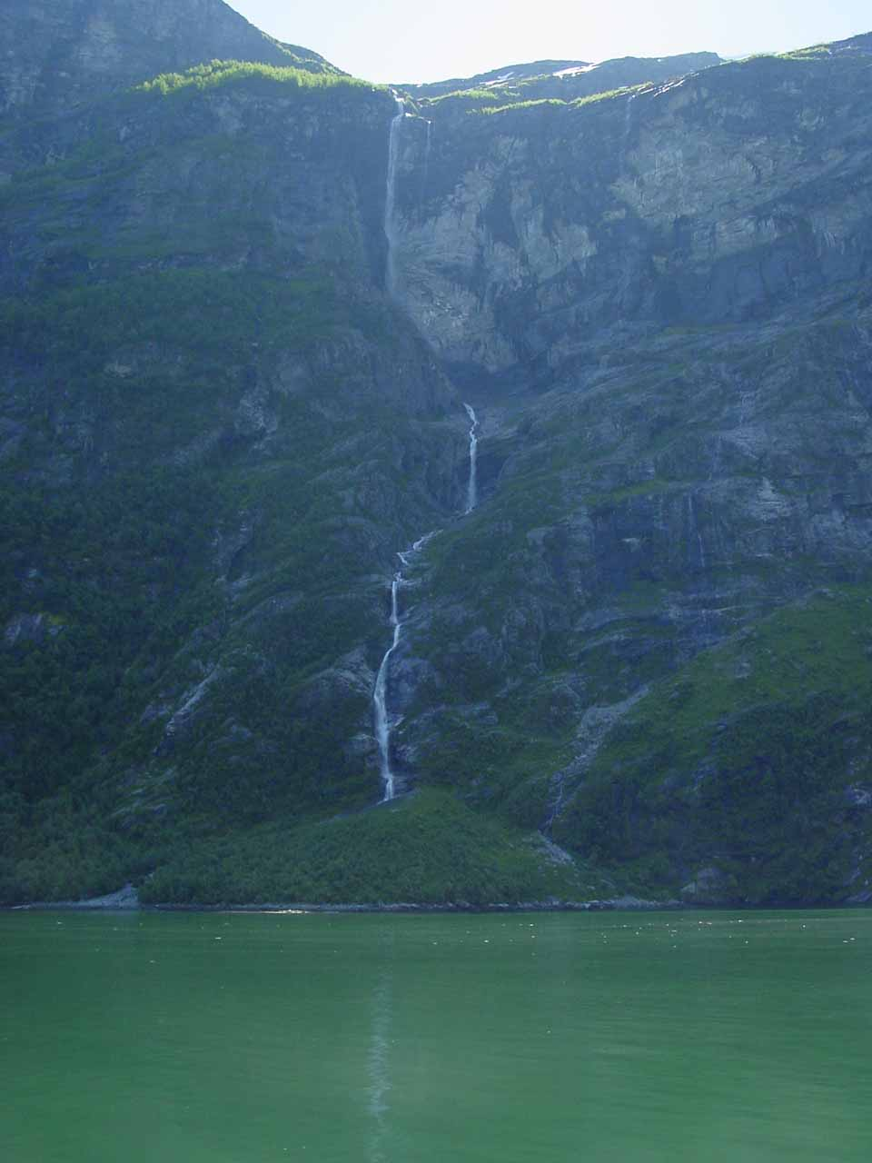 Some other thin waterfall seen on our return leg of the Geirangerfjorden cruise