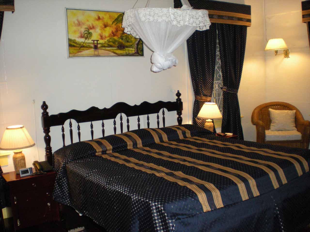 Our room inside Herdmanston Lodge