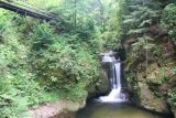 Geroldsau_Waterfall_036_06222018 - Context of the Geroldsauer Waterfall and a bridge above it