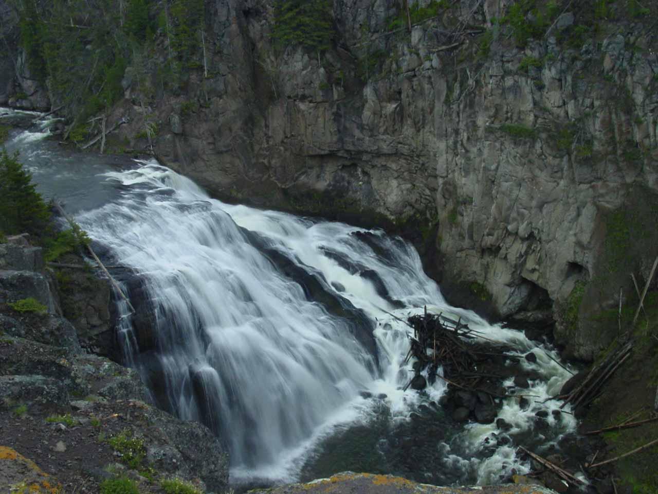 South Grand Loop Waterfalls