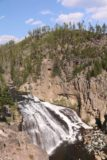 Gibbon_Falls_17_007_08102017 - First look at Gibbon Falls near its brink during our visit in August 2017
