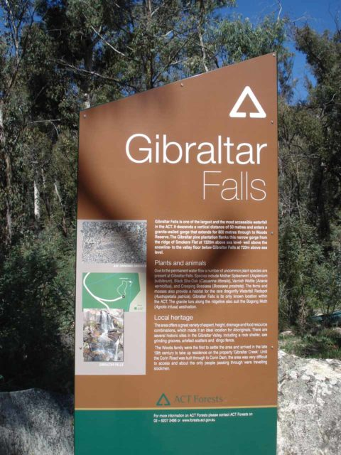 Gibraltar_Falls_001_jx_11072006 - Signage confirming that we did indeed find the right place to check out Gibraltar Falls