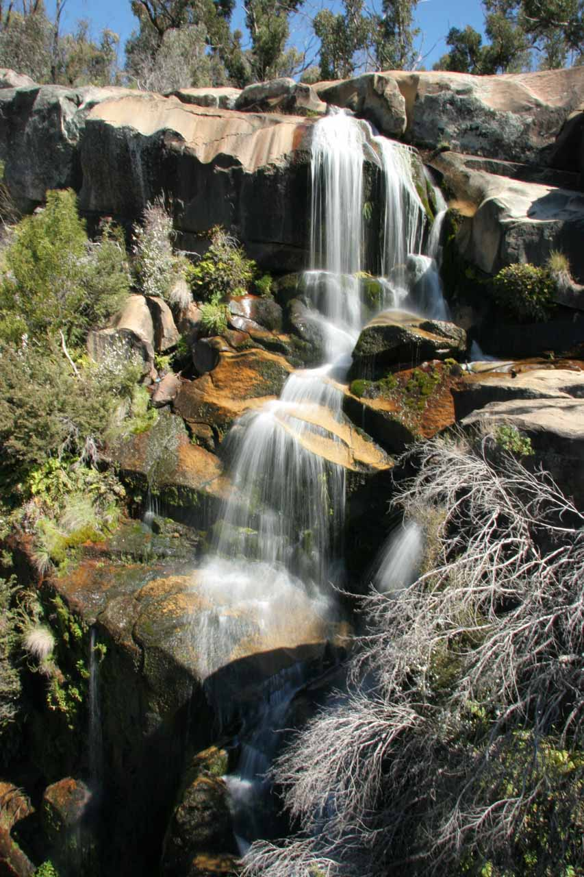 Gibraltar Falls Near Canberra Australian Capital