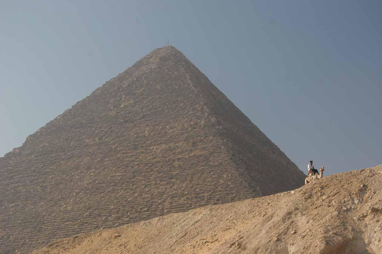 The Grand Pyramid at Giza