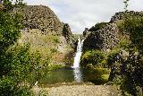 Gjain_079_08202021 - Approaching the scenic Gjarfoss in Gjain