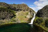 Gjain_137_08202021 - Looking down across the plunge pool towards Gjarfoss from a bluff