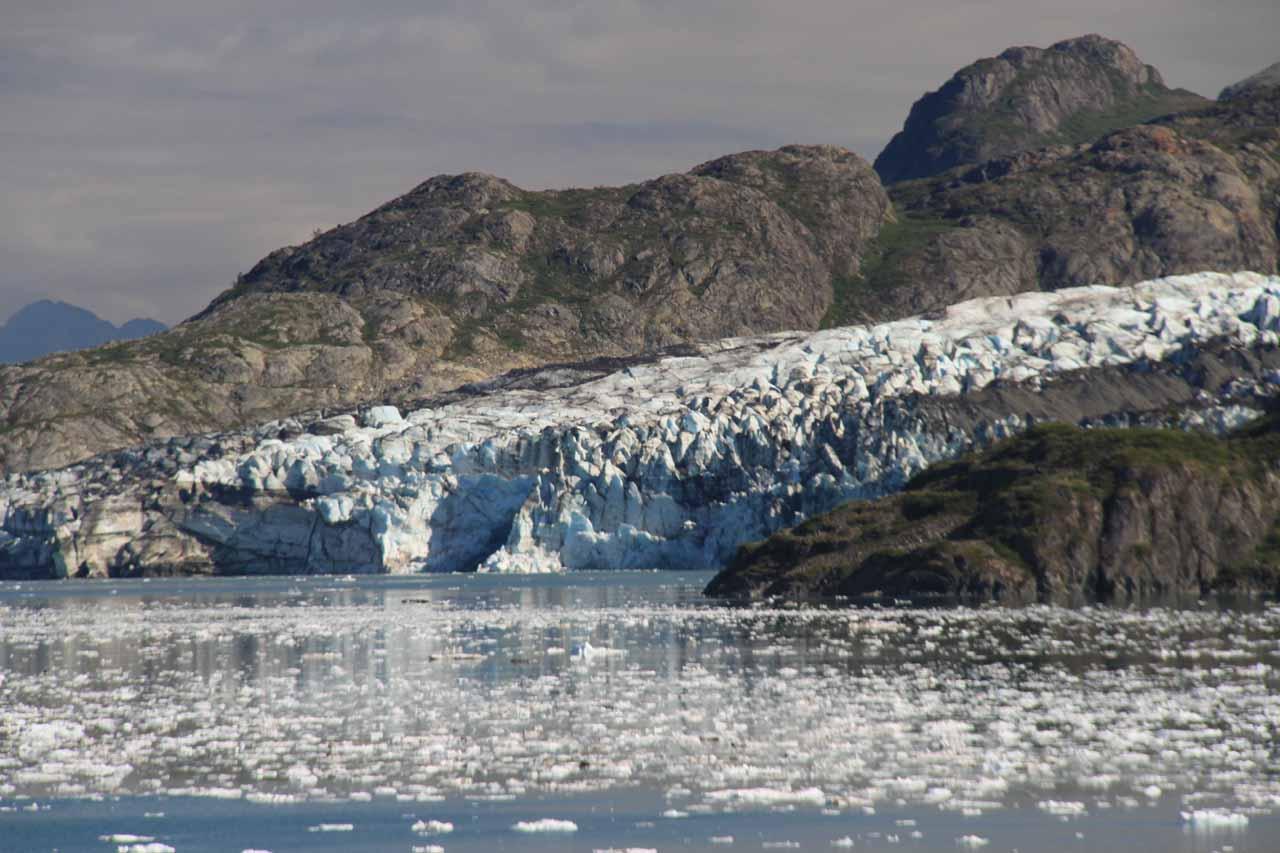 Closer look at the attractive Lamplugh Glacier