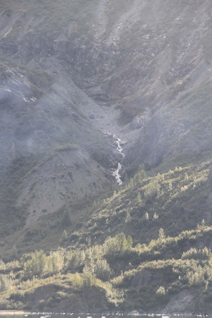 A cascade seen near the Marjerie Glacier