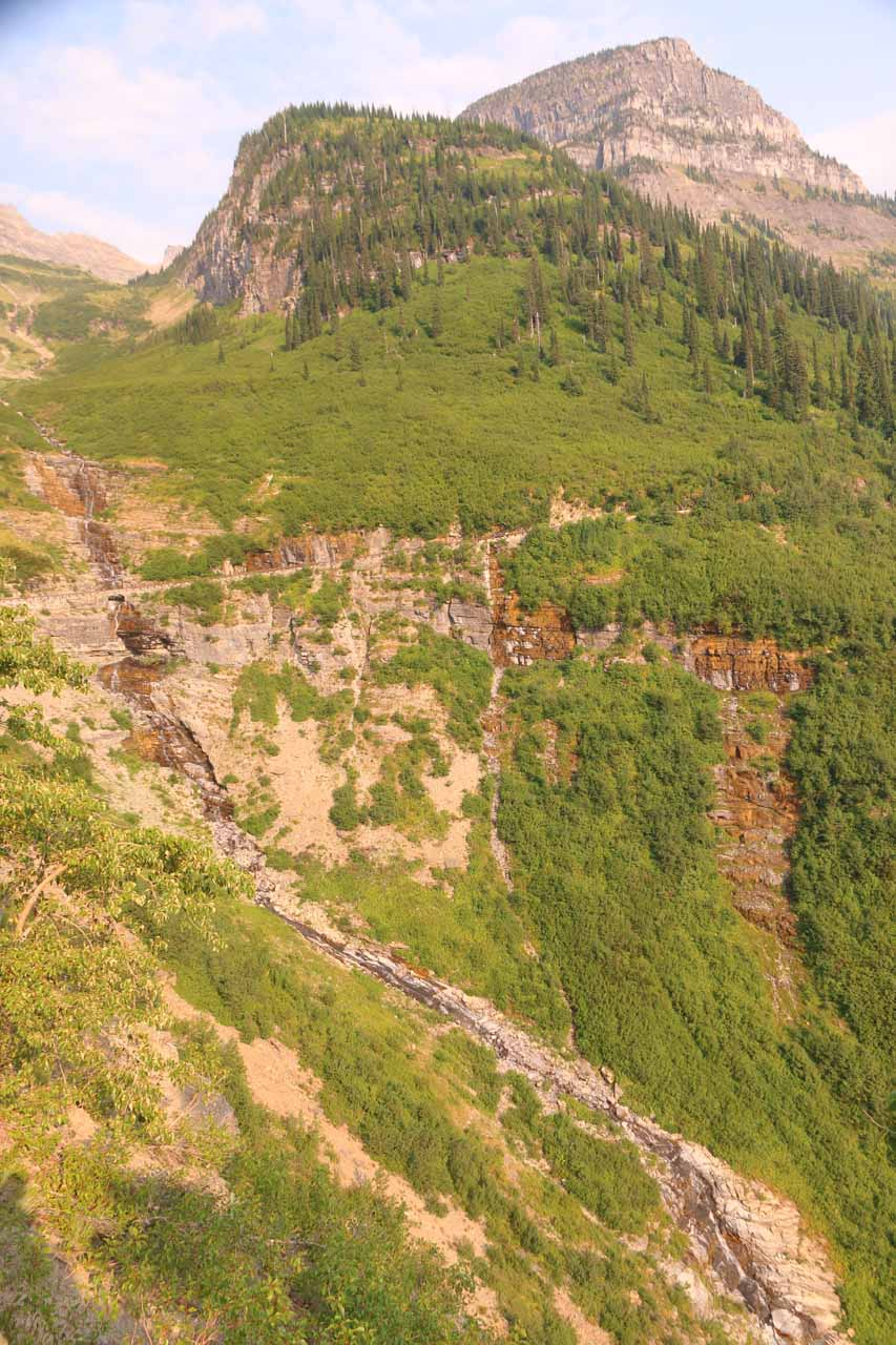 Contextual look back at Haystack Creek and the Going-to-the-Sun Road
