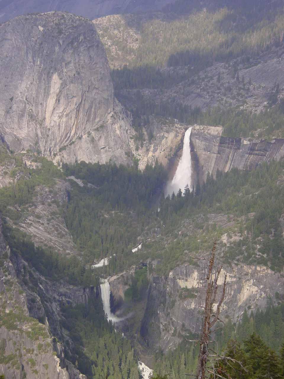 5. VERNAL FALL AND NEVADA FALLS [Yosemite National Park, Mariposa County]