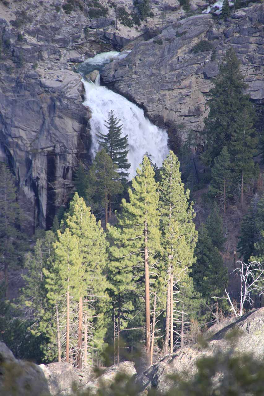 Partial view of Illilouette Fall from Washburn Point