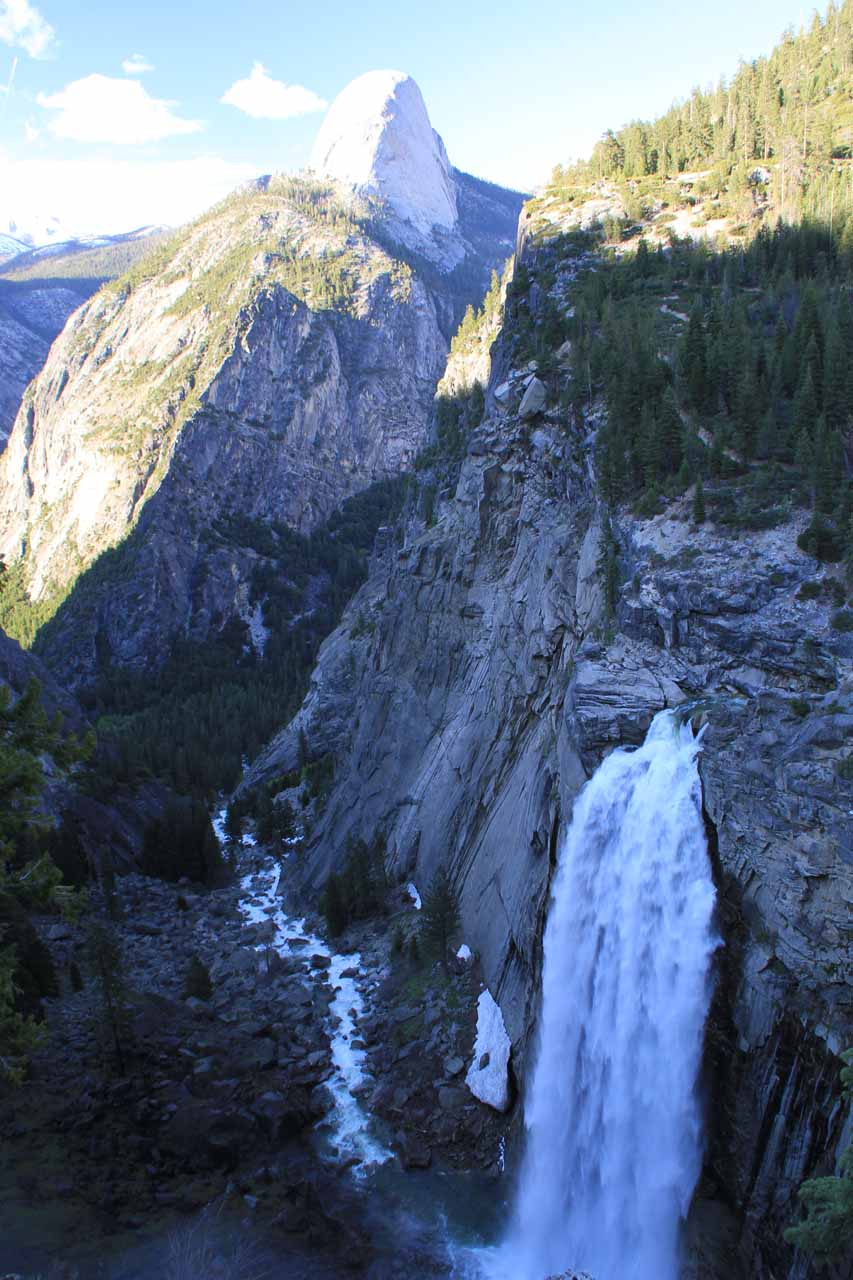 Illilouette Fall with Half Dome