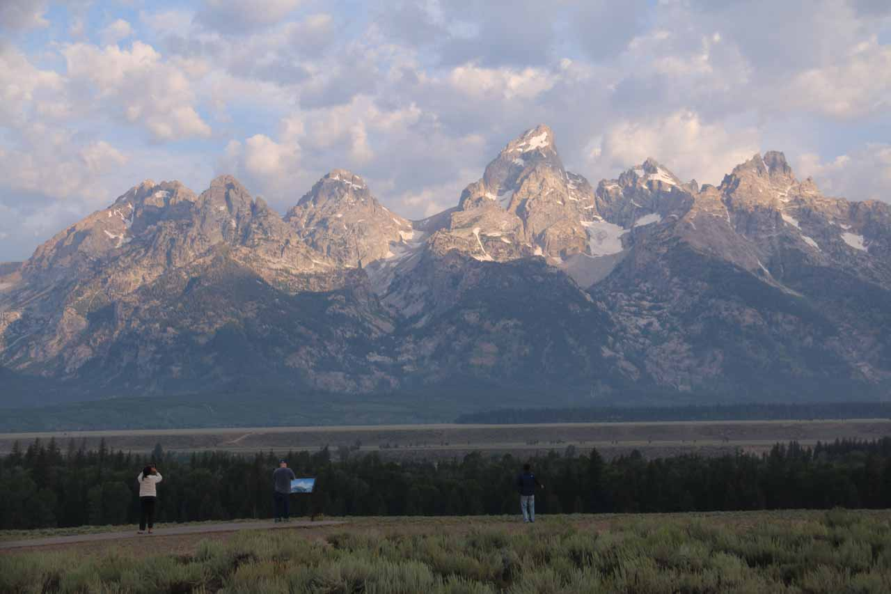 Instead of driving north from Idaho Falls (to Mesa Falls), had we driven east, we would have arrived at Jackson and ultimately up the southern entrance of Grand Teton National Park