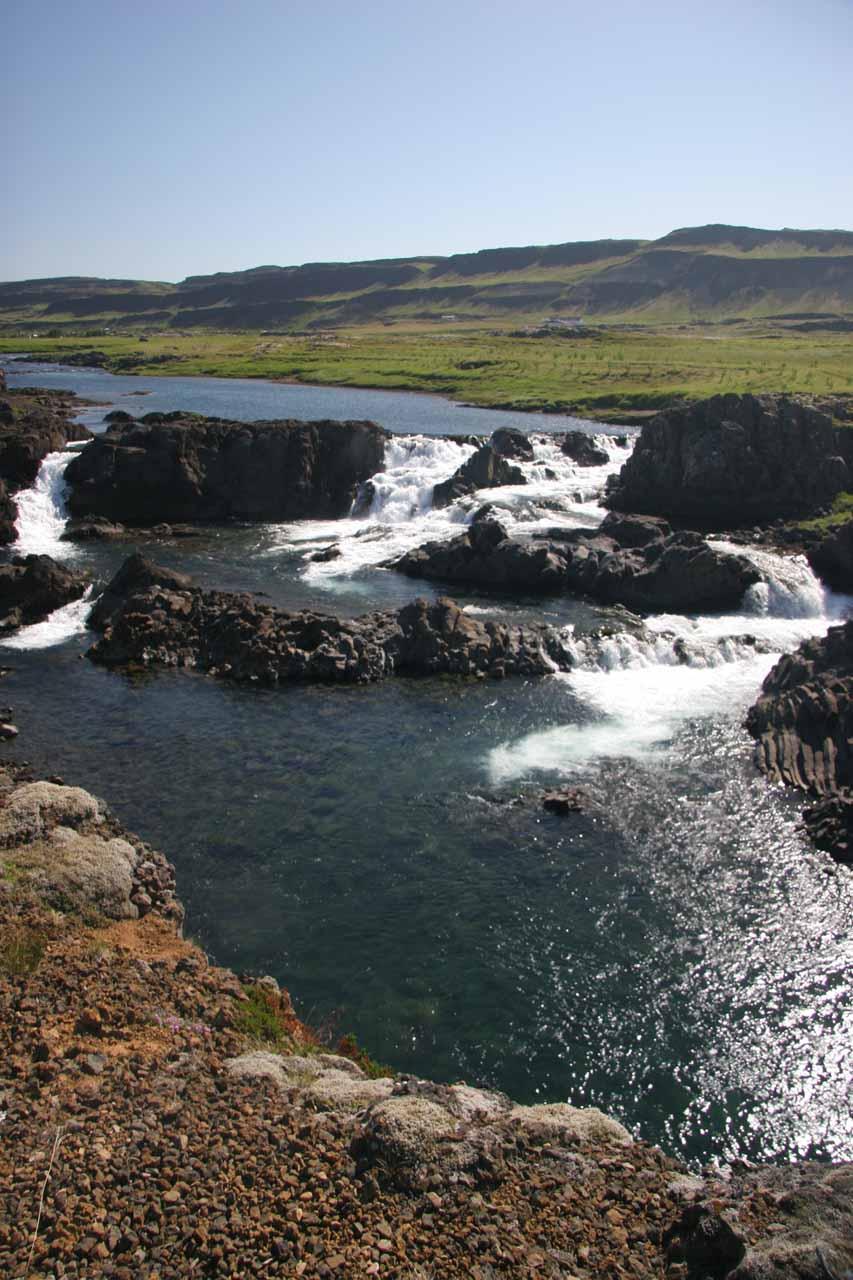 The Glanni Waterfall