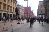 Glasgow_346_08302014 - A balancing busker on Buchanan Street