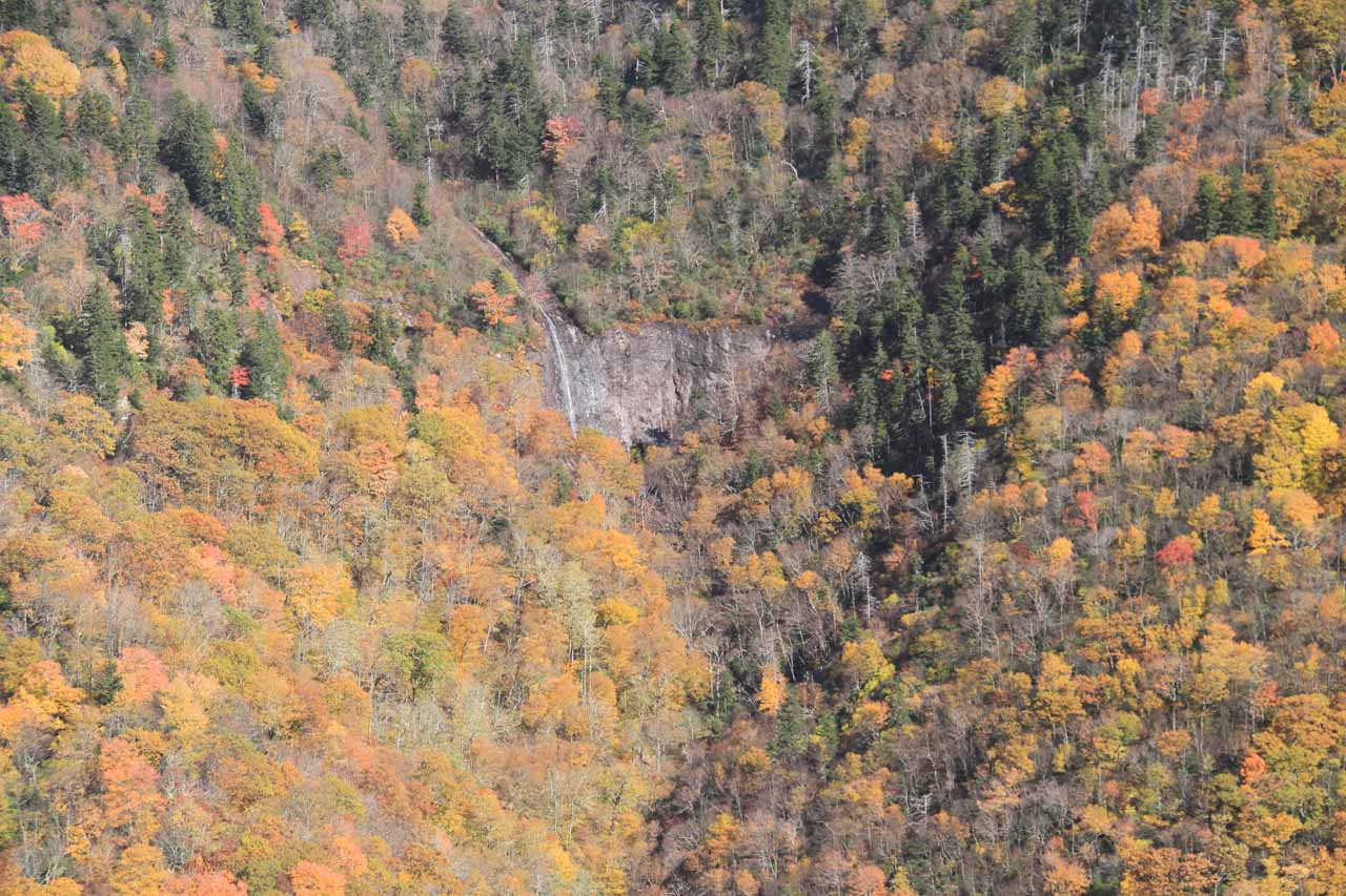 Another look at Glassmine Falls and Fall colors