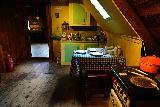 Glaumbaer_016_08152021 - The kitchen area upstairs of the tea house in Glaumbaer