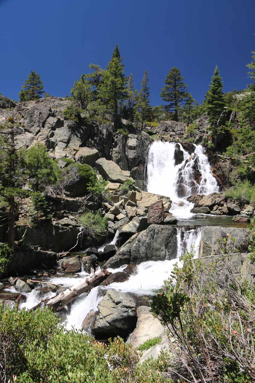 Checking out Modjeska Falls and a cascade further downstream