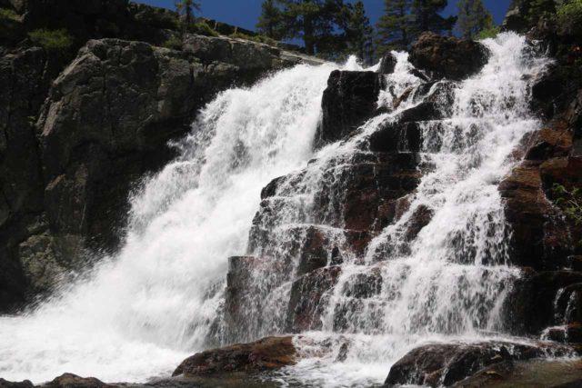 Glen_Alpine_Falls_112_06232016 - Enjoying the bottom of the main drop of the Modjeska Falls