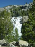 Glen_Aulin_camp_019_05302004 - White Cascade and Tuolumne Falls seen together from near the High Sierra Camp