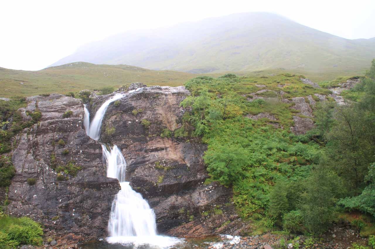 One of a handful of Glencoe Waterfalls in and around the Glencoe Valley