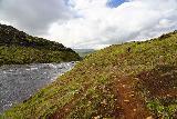 Glymur_262_08052021 - Now hiking downstream along the opposite side of Botnsa