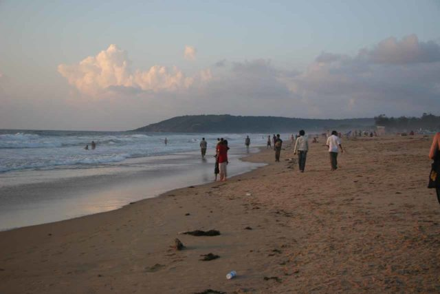 Goa_006_11122009 - The beaches at Goa were part of the reason why Dudhsagar Falls were so popular