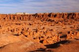 Goblin_Valley_009_04012018 - More contextual look at the clusters of rock formations resembling the namesake goblins in Goblin Valley State Park
