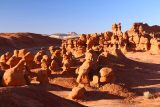 Goblin_Valley_084_04012018 - Looking over another large cluster of goblins in the late afternoon