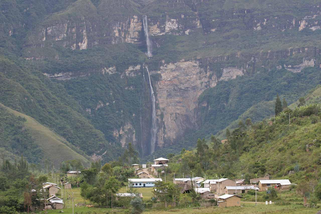 A Peru Waterfall