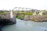 Godafoss_053_08132021 - The footbridge going across Skalfandafljot