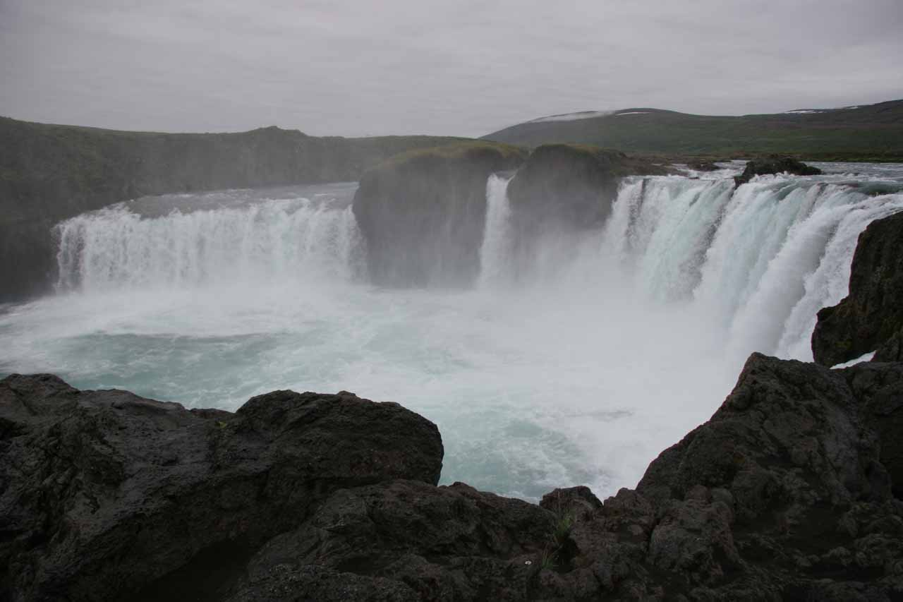 Goðafoss from the west side of Skálfandafljót