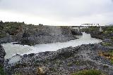 Godafoss_082_08132021 - Looking downstream across Geitafoss towards the footbridge spanning the Skalfandafljot River